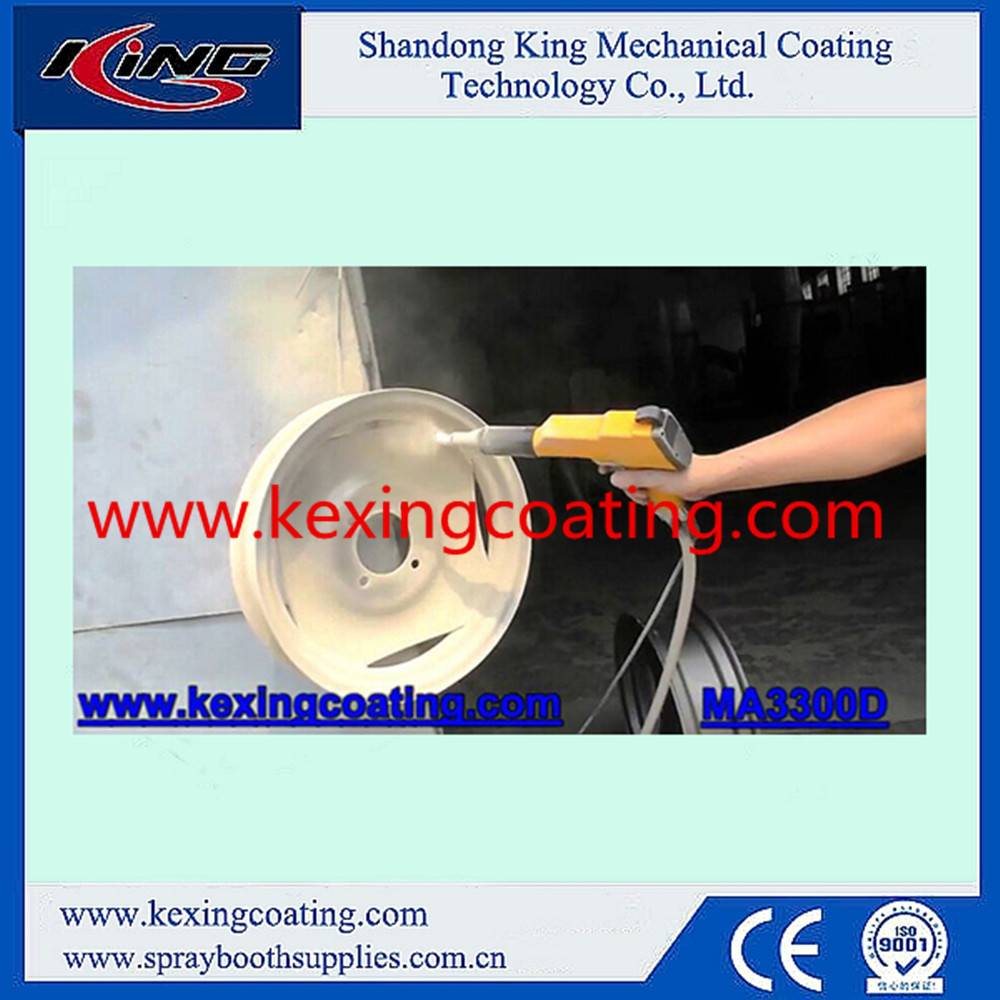 Steel Substrate and Coating Spray Gun Type Powder coating