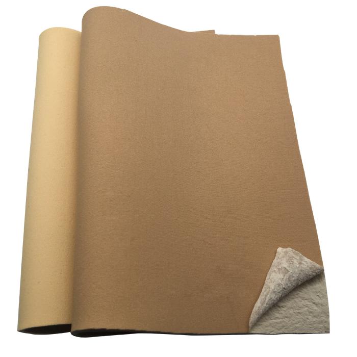 beige white neoprene laminate skin color nylon fabrics 3mm waterproof by meter