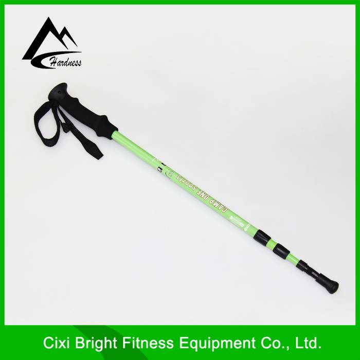 3 Section EVA Grip Antishock Telescopic Nordic Trekking Canes