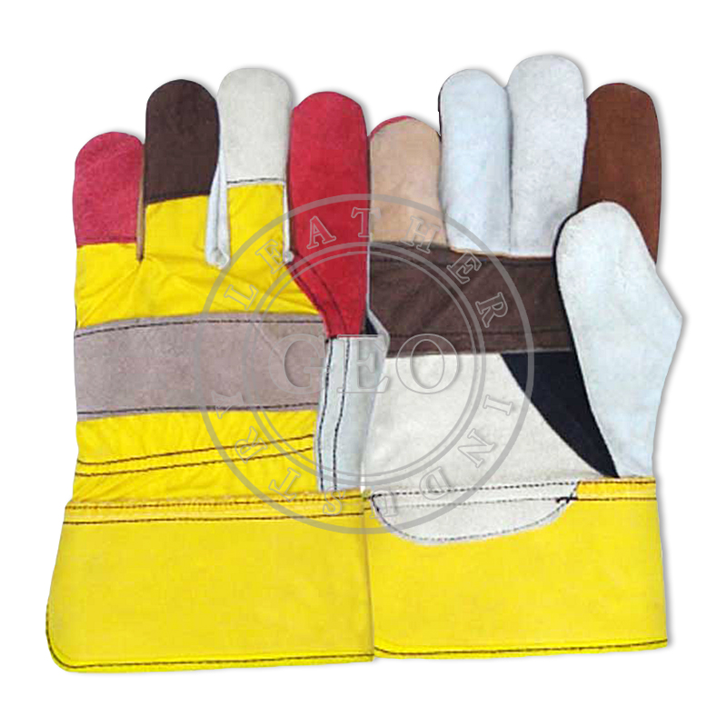 Furniture Rigger Industrial Leather Gloves