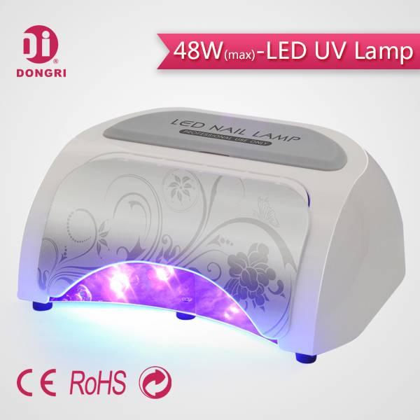 New Pro 48W LED Nail Light Powerful High Quality Professional Salon Use 18G18K LED Nail Light