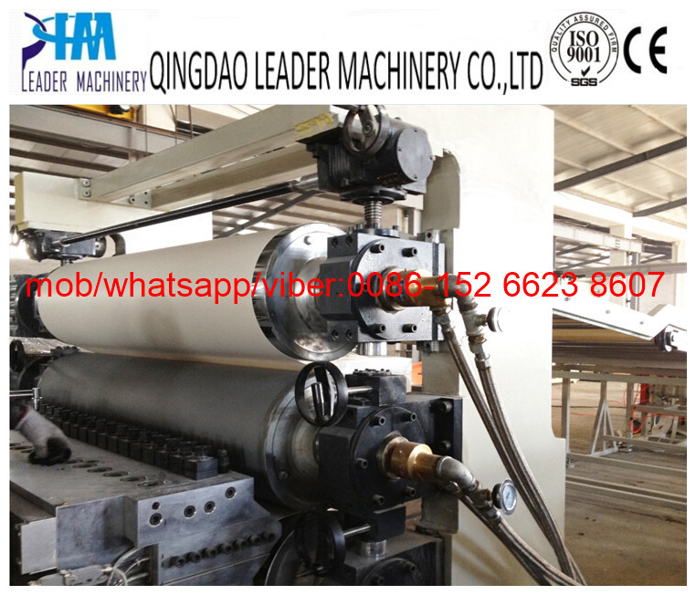 PVC sheet/sandwich panel extrusion line