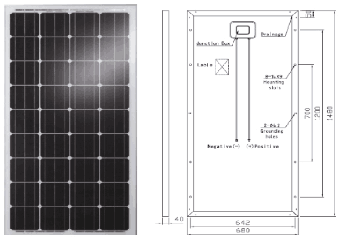 royalstar M36 distributed grid connected photovoltaic system