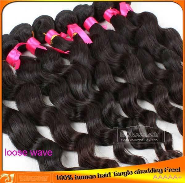 Wholesale Indian Brazilian Virgin Human Hair Weave Wefts for Black Women
