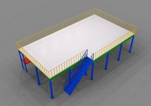 storage solutions mezzanine floor