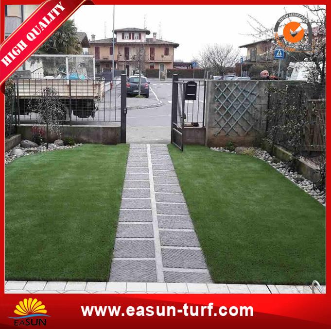 Green natural artificial grass mat for home garden decoration-AL