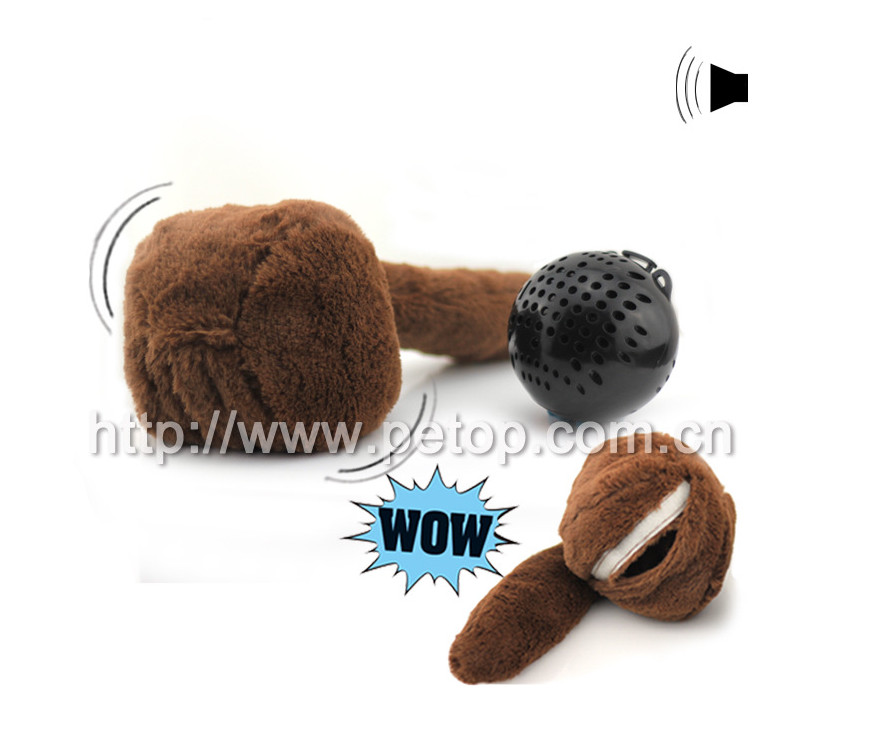 New Eco-friedly Plastic Ball Dog Toys Christmas Gift Ball Dog Toy