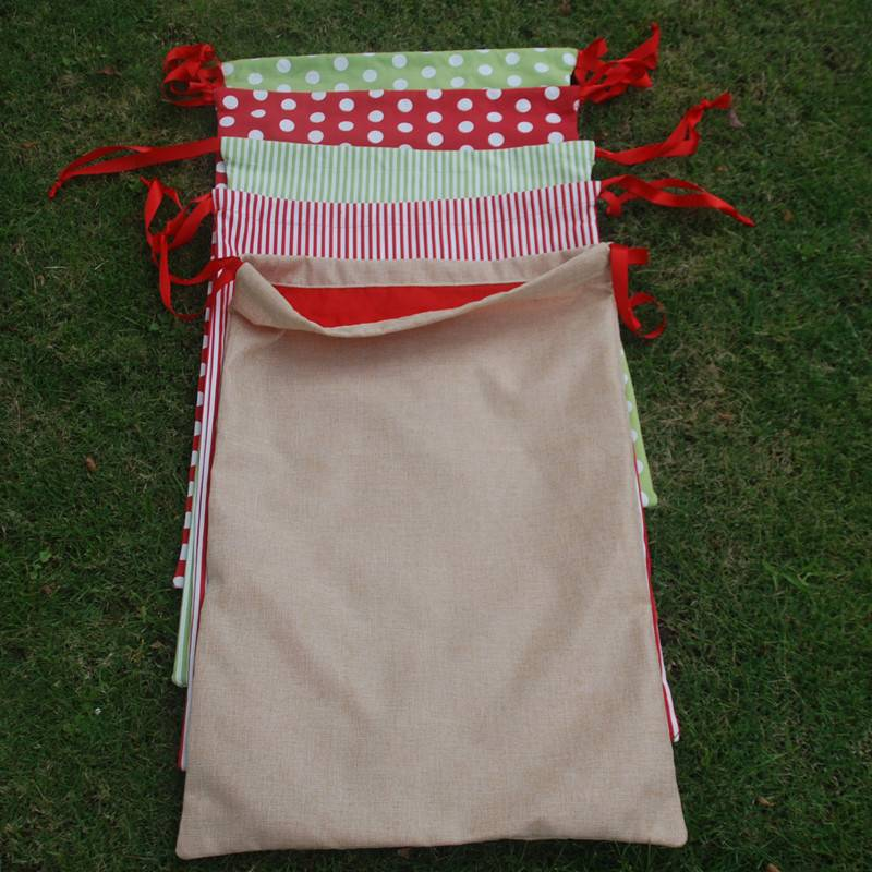 Exclusive New Designs Xmas Canvas bag Reindeer sack
