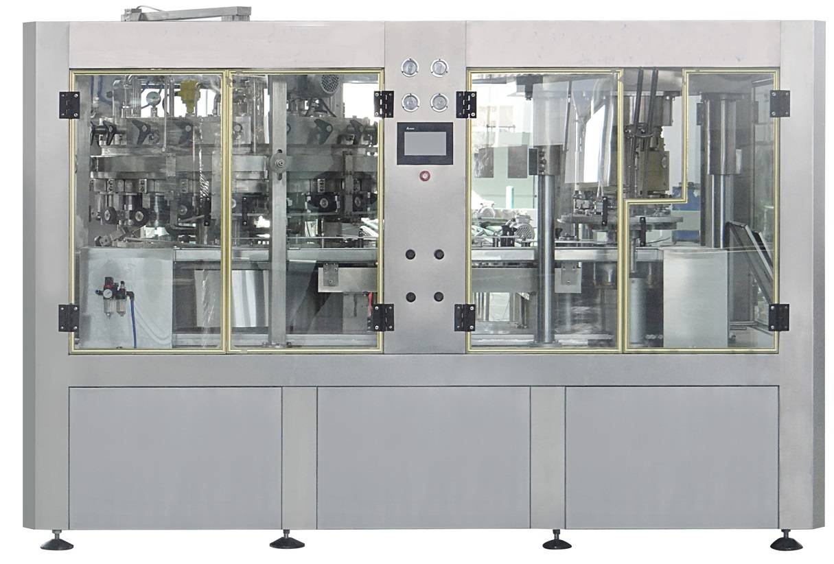 Beer Canning filling and sealing 2-1 unit machine