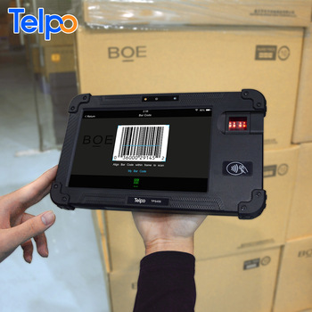 Remote Technical Support Telpo mobile biometric fingerprint terminal time attendance with NFC reader