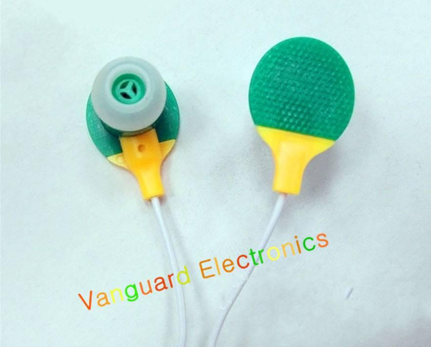Ping-Pang earphone