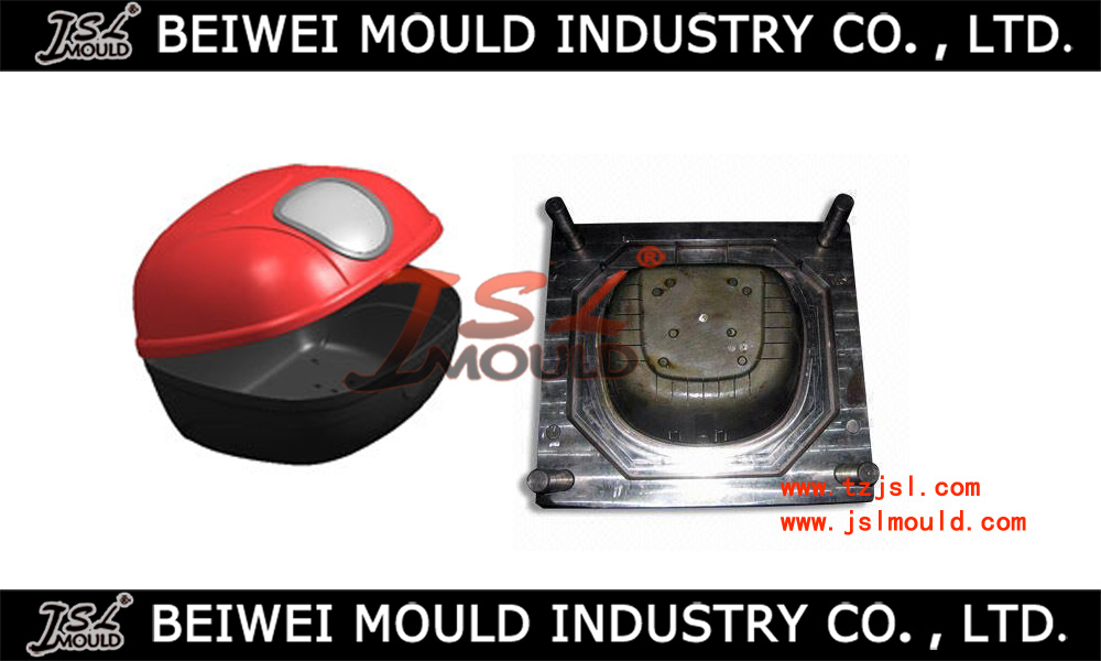 quality motorcycle tail box injection mould maker