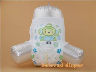 wetness indicator 3D leakage proof baby pull up diaper