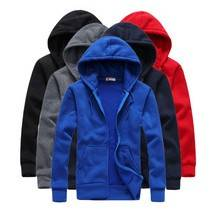 Hot sale Mens Hoodies and Sweatshirts autumn winter lovers casual with a hood sport jacket
