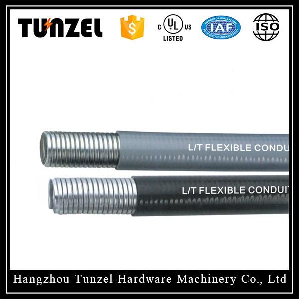 Liquid tight flexible steel metal conduit