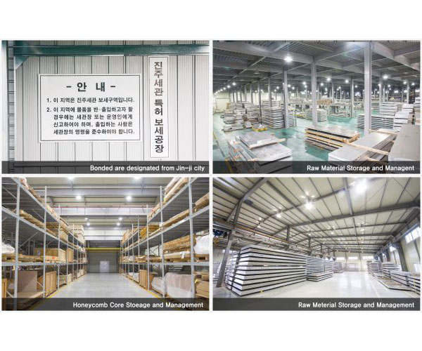 Raw material storage and management
