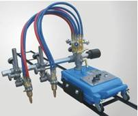 CG1-100 Semi-auto double torch steel plate gas Cutting Machine