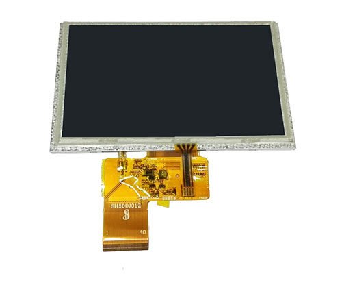 5 inch 800480 indurstrial TFT LCD touch screen module