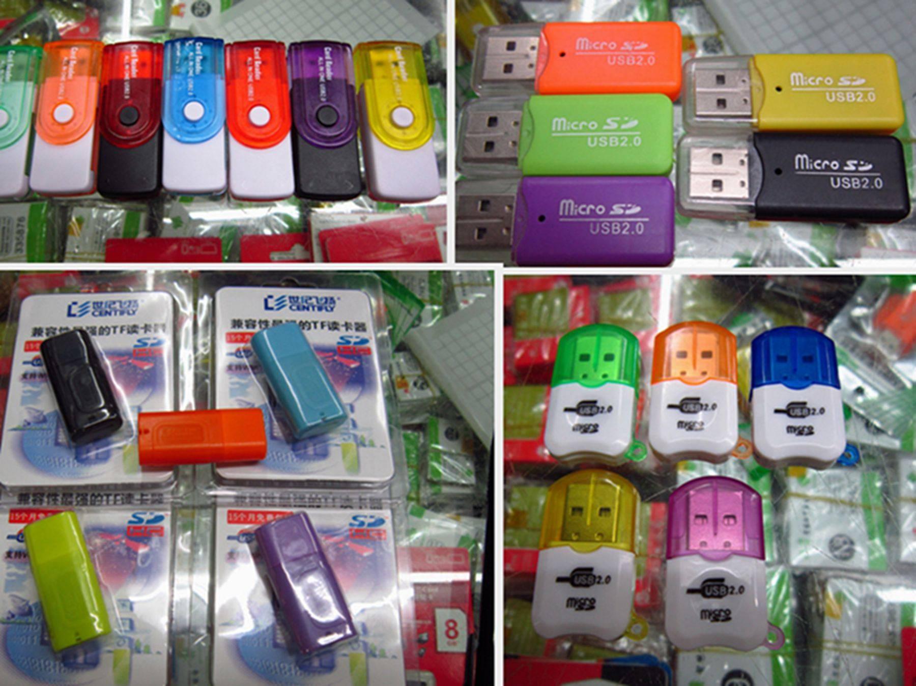 Cellphone Memory Card Reader, Mobile phone Tablet Micro SD/TF Card Reader, Camera Card Reader