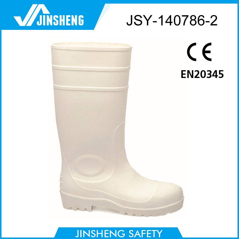 CE Oil industry colorful safety steel toe pvc rain boots