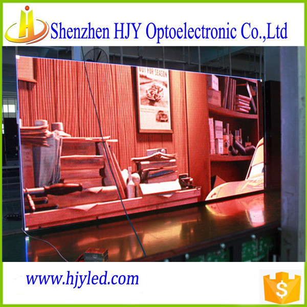 hd video play led display indoor p7.62 led display screen for advertising
