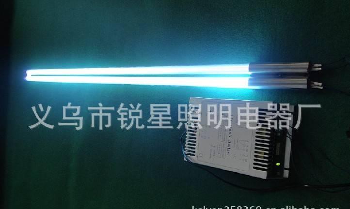 Tungsten electrode quartz ultraviolet germicidal lamp