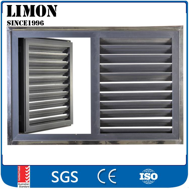 Powder coating aluminum louvre windows with cheap price