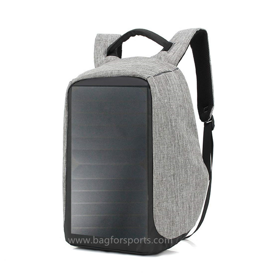 6W Solar Backpack Anti-Theft Waterproof, for Carrying Books Or Laptop to Work, School Or Hiking, Cha