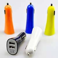 Best Quality Horn Style Dual USB Car Charger 2.1A