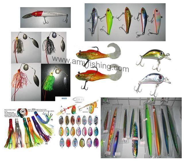 fishing lure, fishing bait, soft lure, hard bait, frog, spinnerbait, spoon, spinner, squid jig