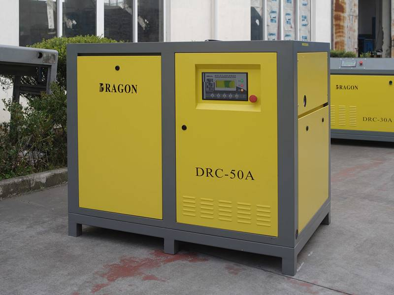 Dragon screw air compressor made in China