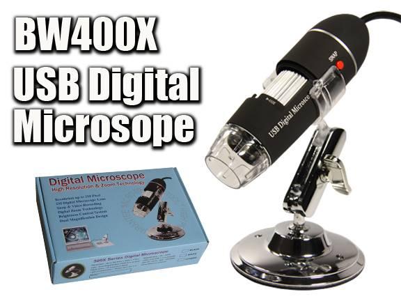 USB Digital Microscope camera 400X 2M pixels