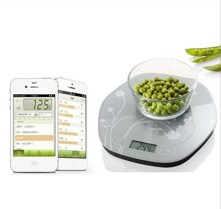 2014 New Arrival 5kg 11lb Bluetooth Kitchen Scale