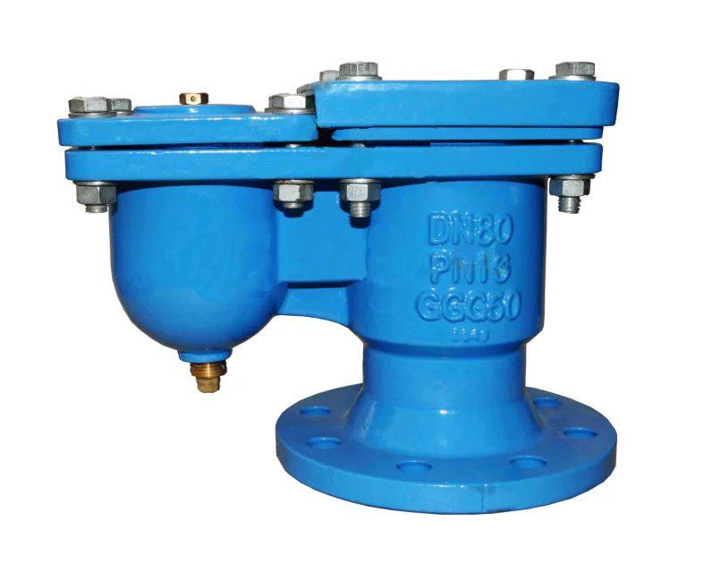 double orifice air valve