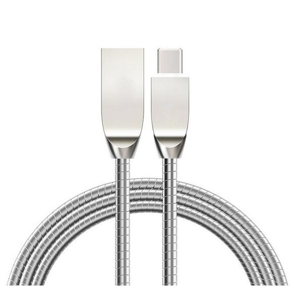 Micro USB Cable Zinc Allloy Ultra Durab le Metal Date Line for Android