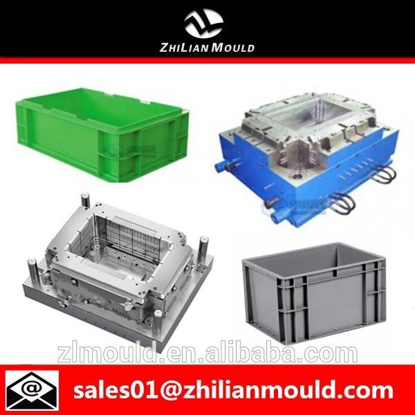 taizhou injection mold making plastic crate mould of high quality