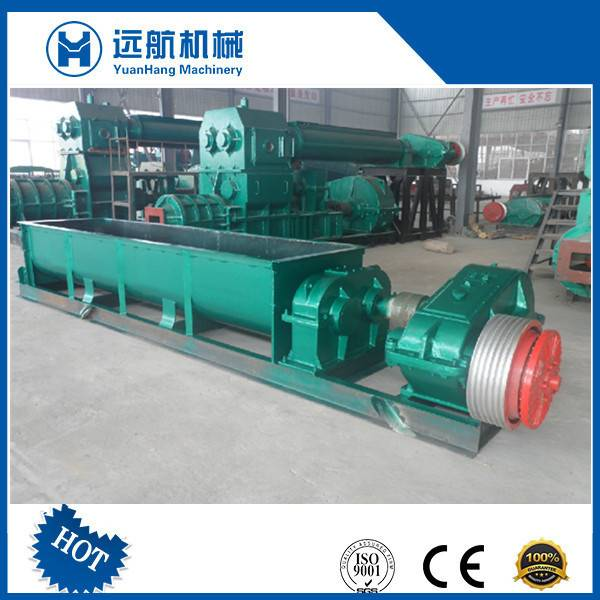Hot Sale Soil Double Shaft Clay Mixer