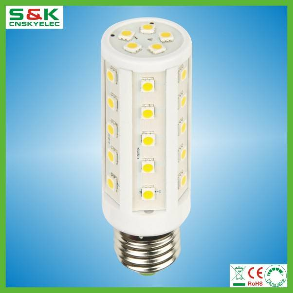 LED 5050 smd E27 led corn bulb B22 E27 led 5050 yellow corn 85-265V led corn light e27 buy from chin
