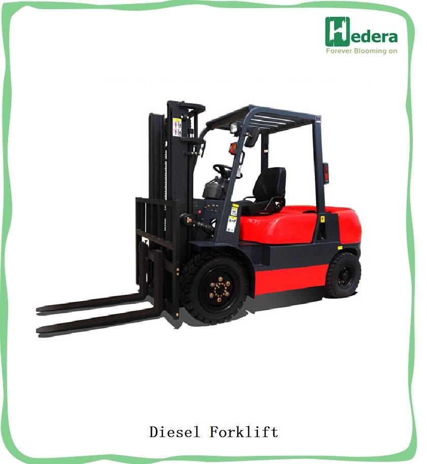 forklift 3 ton, diesel engine, tyre 28X9-15/6.5-10, lifting height 3m, fork 1070mm