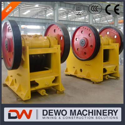 High output Energy-efficient stone crusher jaw crusher