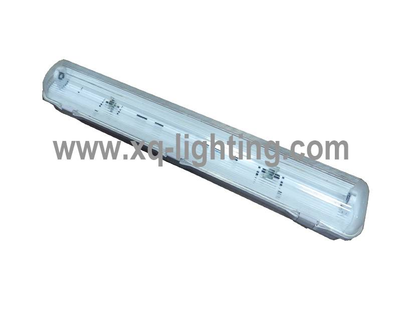IP65 t8 2ft 1x18w 2x18w waterproof fluorescent light fixture