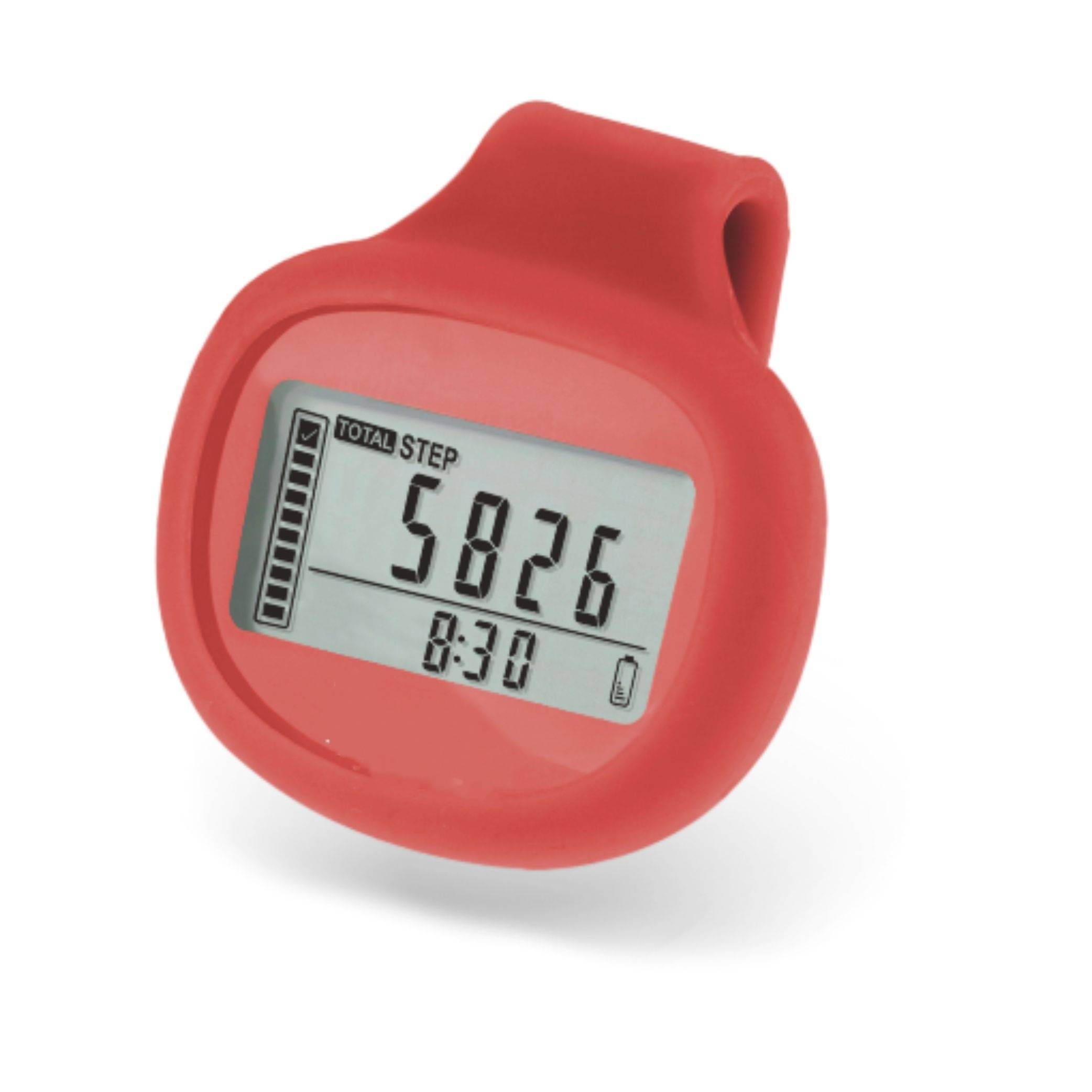 2015 New Innovative 3D Multi-function Pedometer with Silicone Cover