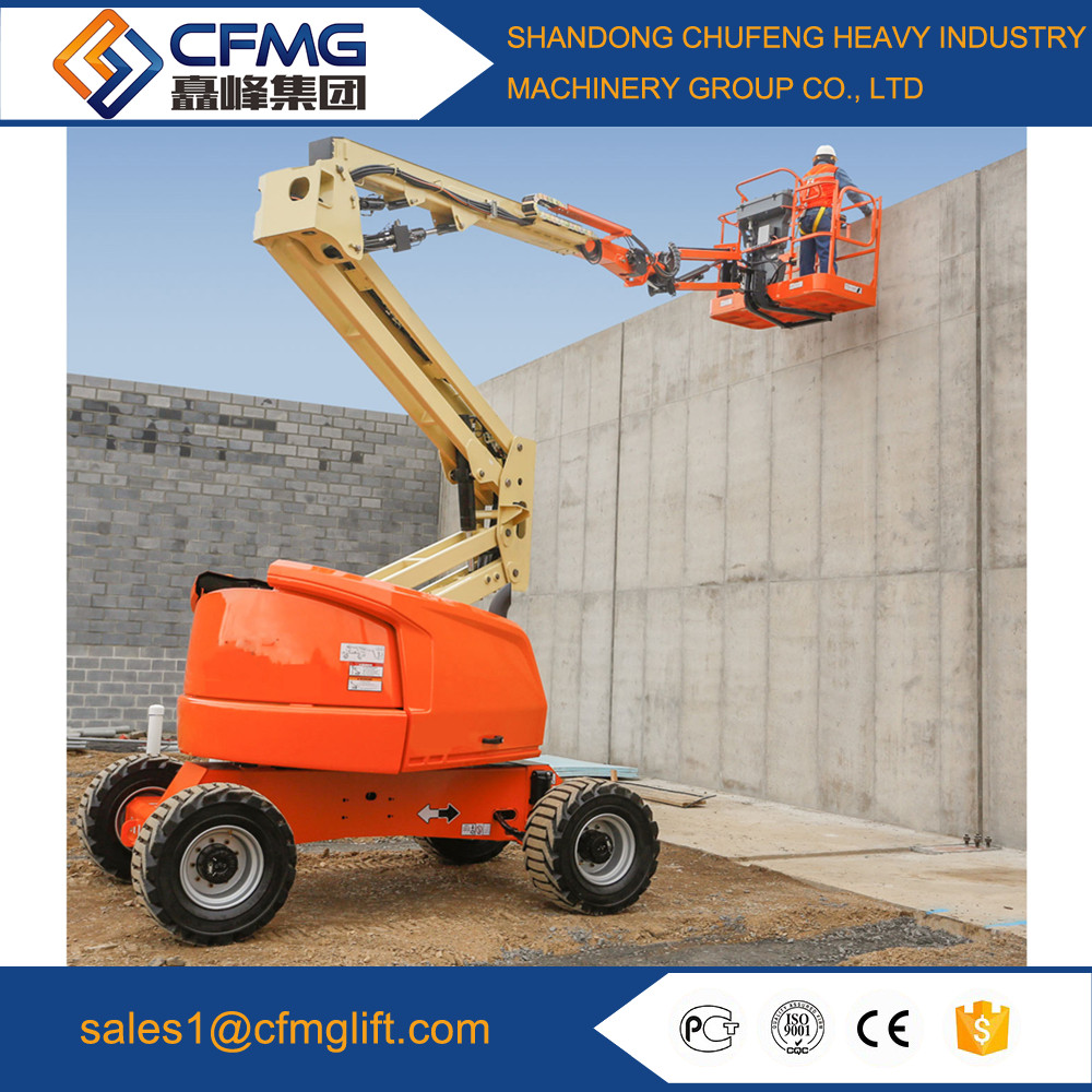 FACTORY PRICE ELECTRIC POWERED ARTICULATING BOOM LIFTS