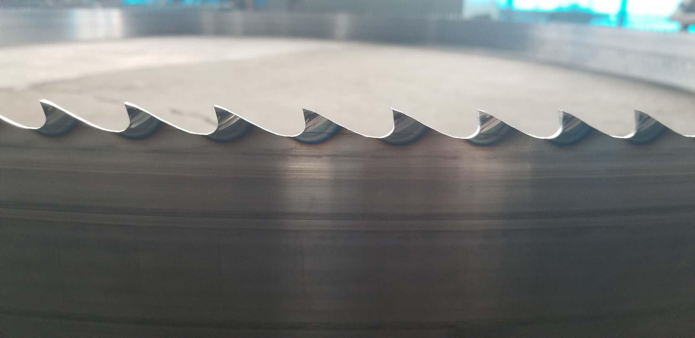 Stellite alloy band saw blade
