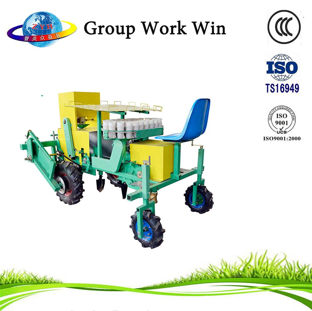 2 row vegetable seeding transplanter