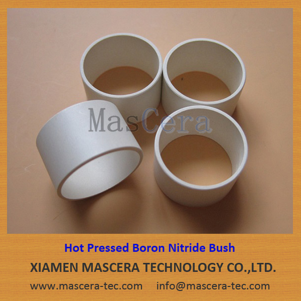 Hot Pressed Boron Nitride Ceramic Bush Sleeve Tube