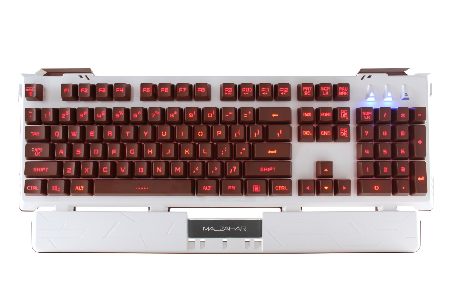TEAMWOLF wired membrain gaming keyboard AK616
