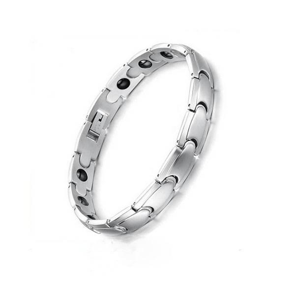 Wholesale Stainless Steel Health Bracelet Bio Magnetic Bracelet