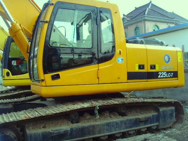 Used  Hyundai  Excavator  R225-7 for sale