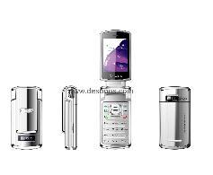 Anycool V868 TV mobile phone,Quad band,Dual sim cards,rotatable screen,flip